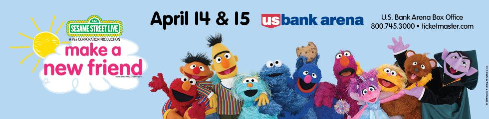 "Sesame Street Live In CINCINNATII!!  Enter to win tickets to ""Make A New Friend"""