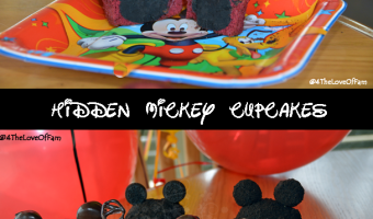 Playing Around With Hidden Mickey Cupcakes