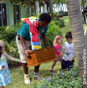 We discovered magical treasure with Abby Cadabby at Beaches Resorts!!