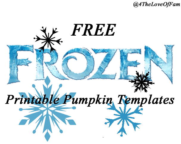 graphic regarding Halloween Cutouts Printables named Totally free FROZEN Pumpkin Carving Halloween Templates ~ Totally free
