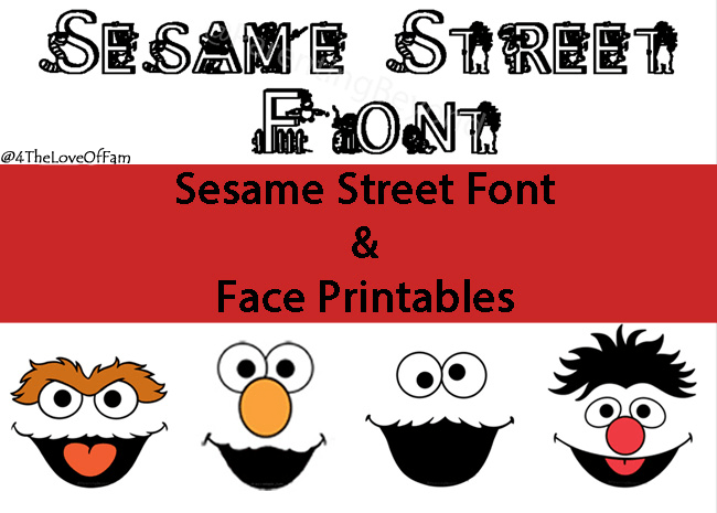 image relating to Printable Sesame Street Sign identified as Totally free Sesame Highway Font Experience Printables - 4 The Enjoy Of Relatives