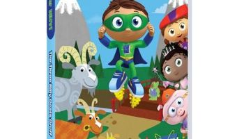 Super Why DVD: Goldilocks And The Three Bears & Other Fairytale Adventures