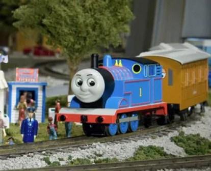 Thomas The Tank at Entertrainment Junction