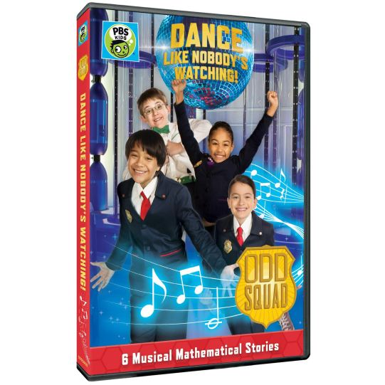 "ODD SQUAD DVD ""Dance Like Nobody's Watching"""