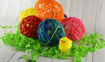 Yarn Eggs Kid's Craft