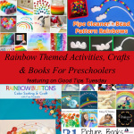 Rainbow Themed Activities, Crafts & Books For Preschoolers