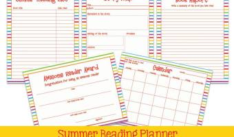 Printable Summer Reading Packet