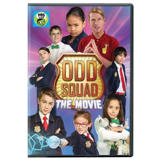 ODD SQUAD: The Movie on DVD
