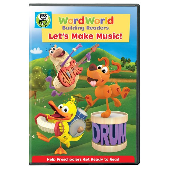 WORDWORLD: Let'S Make Music! DVD Release
