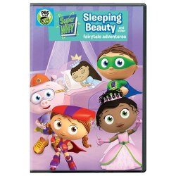 Super Why DVD: Sleeping Beauty And Other Fairytale Adventures