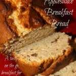Pecan Applesauce Breakfast Bread