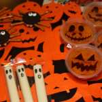 Halloween Kids Class Party Treats – Spooky Spiders, Ghosts, and Pumpkins, oh my!