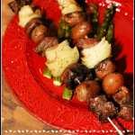 Cowboy Steak and Potato Kabobs #SummerGrilling