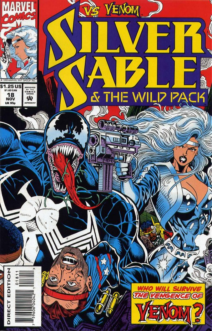 4thletter  Blog Archive  Venom vs Sandman Three