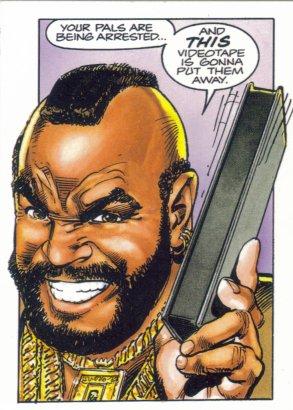 4thletter! » Mr T Comic Book Jibba Jabba