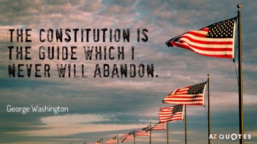 Quotation George Washington