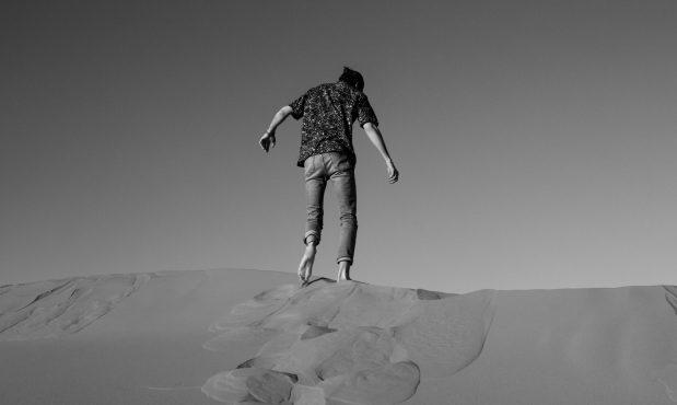 El hombre que brama en el desierto