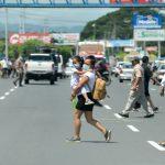 Nicaragua, país hostil con los peatones