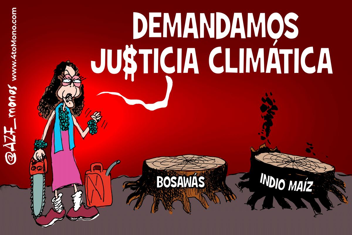 Demandamos justicia climática