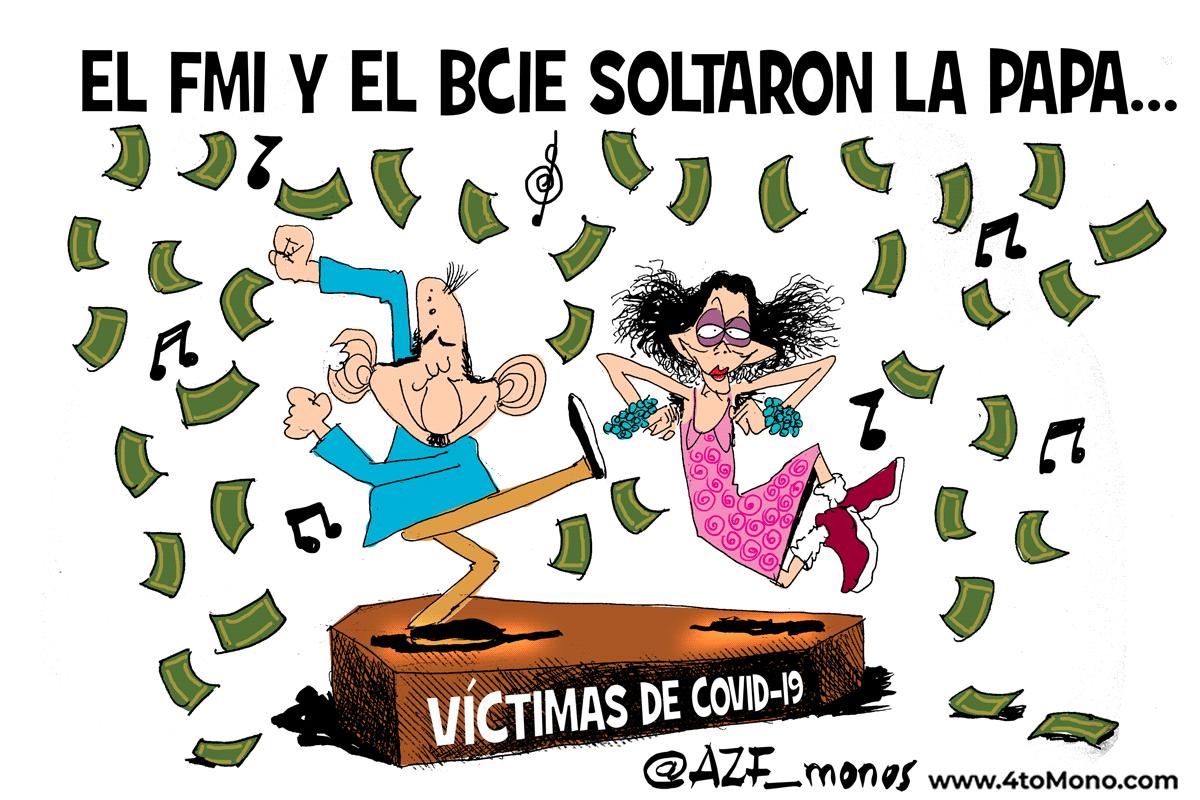 El FMI y el BCIE aprueba el desembolso 485.32 millones de dólares al régimen Ortega Murillo