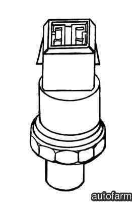 Senzor presiune clima AUDI A4 Avant 8D5 B5 NRF 38901 #1970826