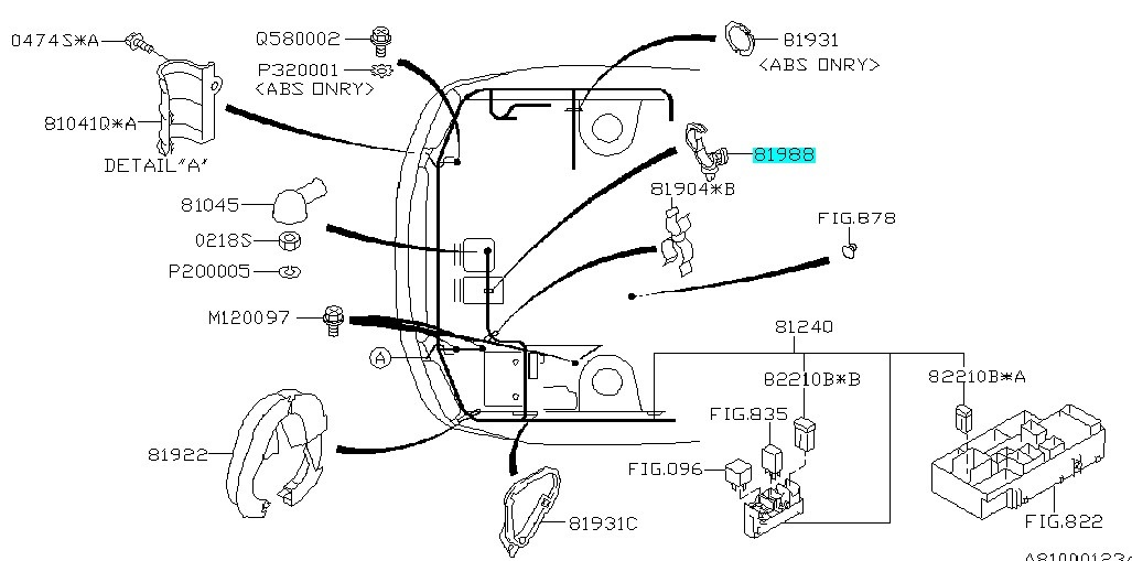 2014 Subaru Impreza Fuse Box Diagram / Fuse Box Diagram