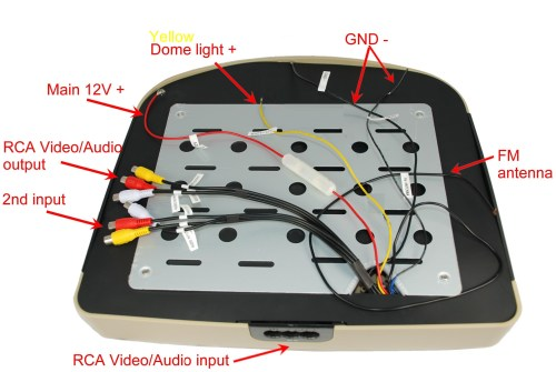 small resolution of with flip down dvd player wiring diagram as well jensen wiring auto wiring diagram library car monitor wiring diagram