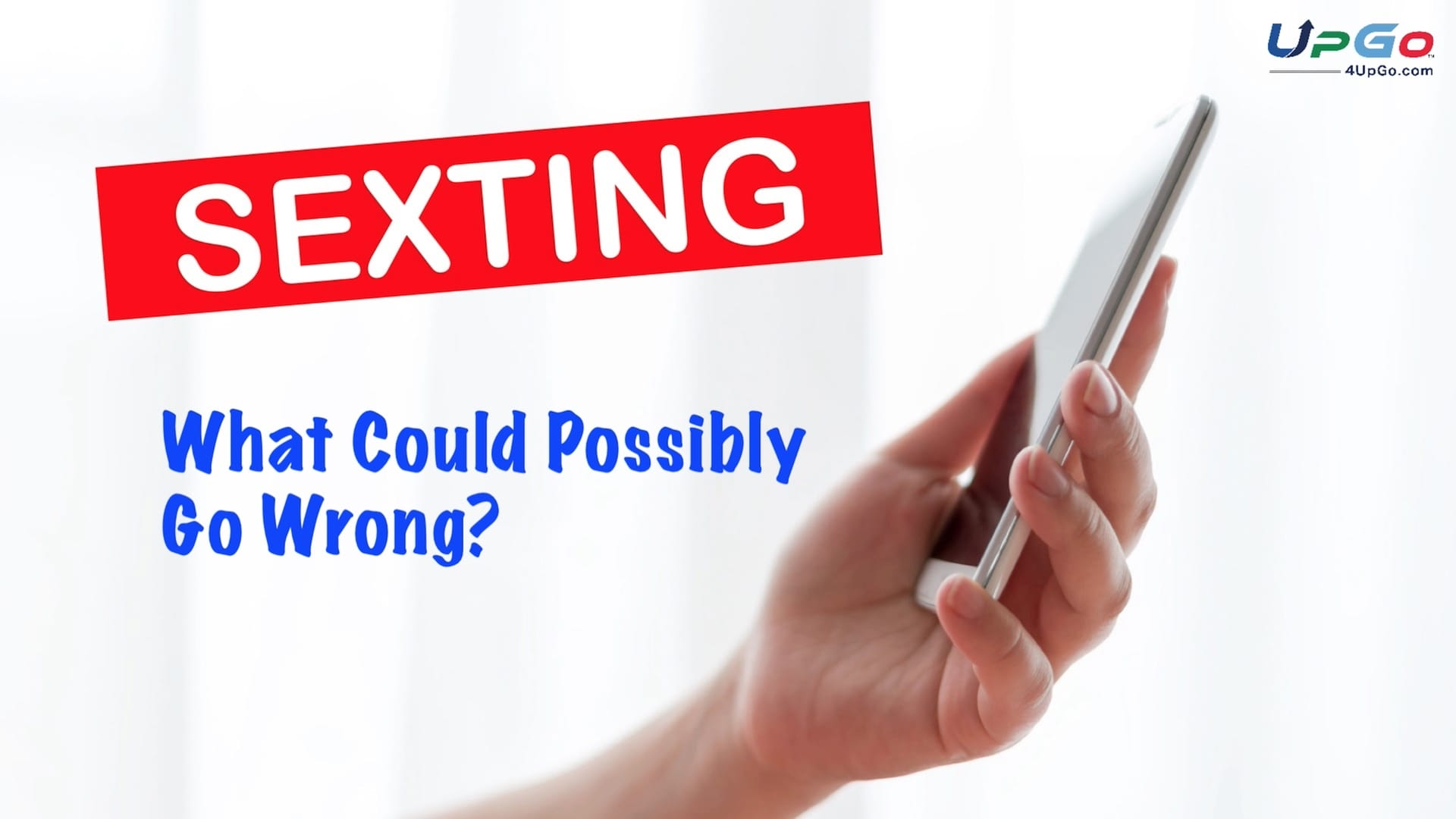 Sexting: What Could Possibly Go Wrong?