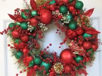 Awesome Outdoor Christmas Wreaths Ideas - 4 UR Break ...