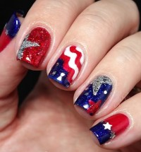 4th of July Nail Art Design Ideas | 4 UR Break - Family ...