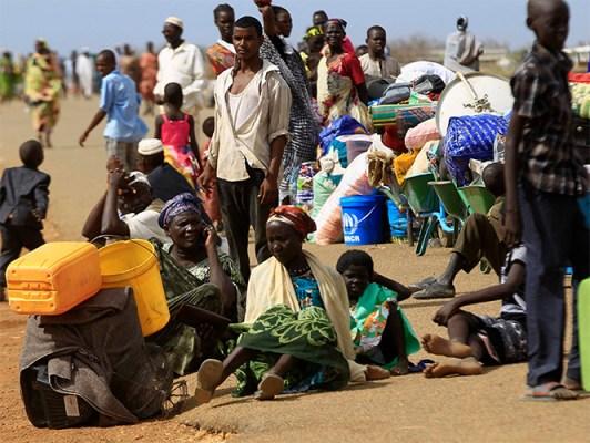 SUDAN REFUGIADOS