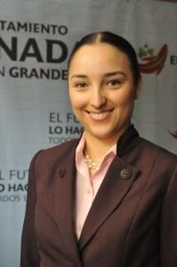 La titular de Transparencia Municipal (Foto: Cortesía).