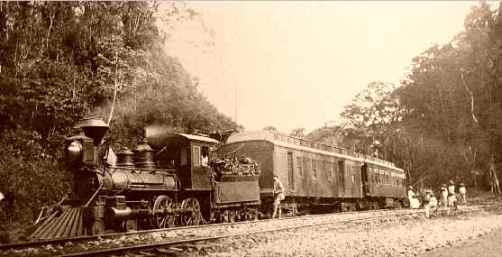 El antiguo ferrocarril del Istmo de Tehuantepec (Foto: internet).