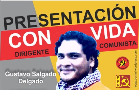 ACTIVISTA ALEJANDRO SALGADO