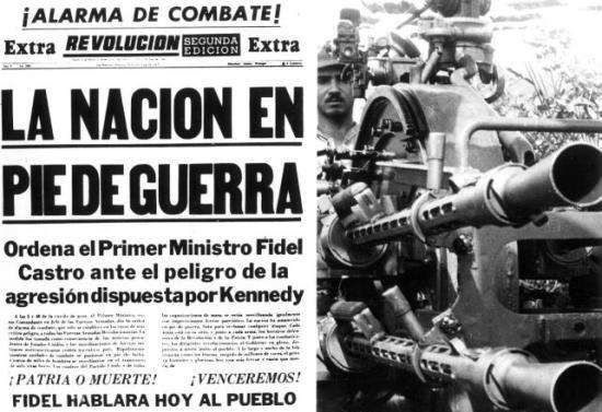 CUBA ALERTA GUERRA PERIODICO