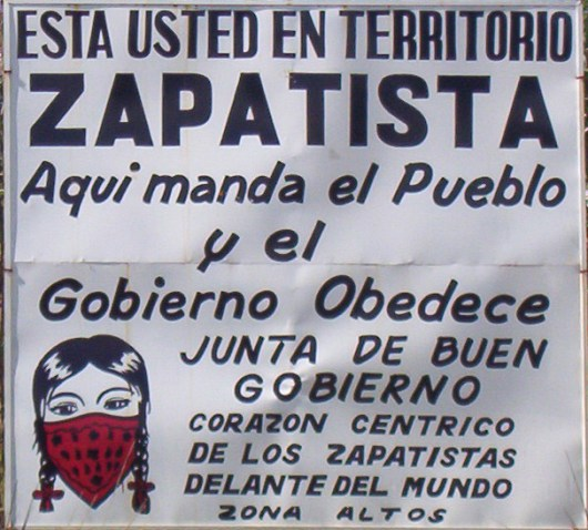 TERRITORIO ZAPATISTA CARTEL