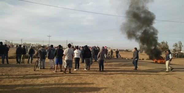 El hartazgo encontró en la violencia una forma de manifestación (Foto: Periódico El Mexicano).