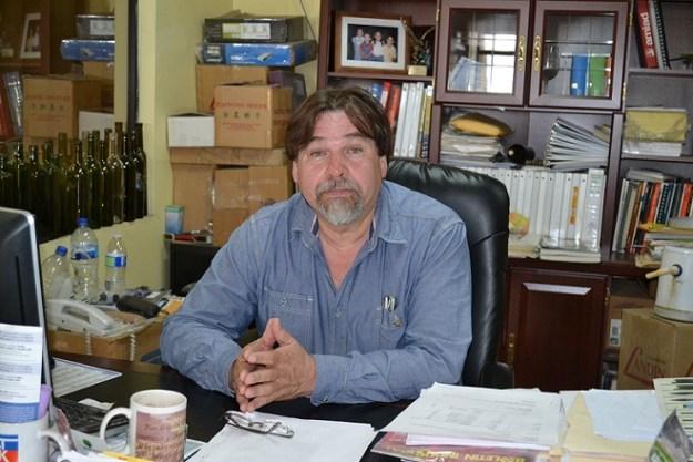 Jorge Eduardo Cortes Ríos, presidente de la Cámara Nacional de la Industria de Transformación  Ensenada (Foto: cortesía).