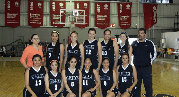 CETYS BASQUET EQUIPO MUJERES