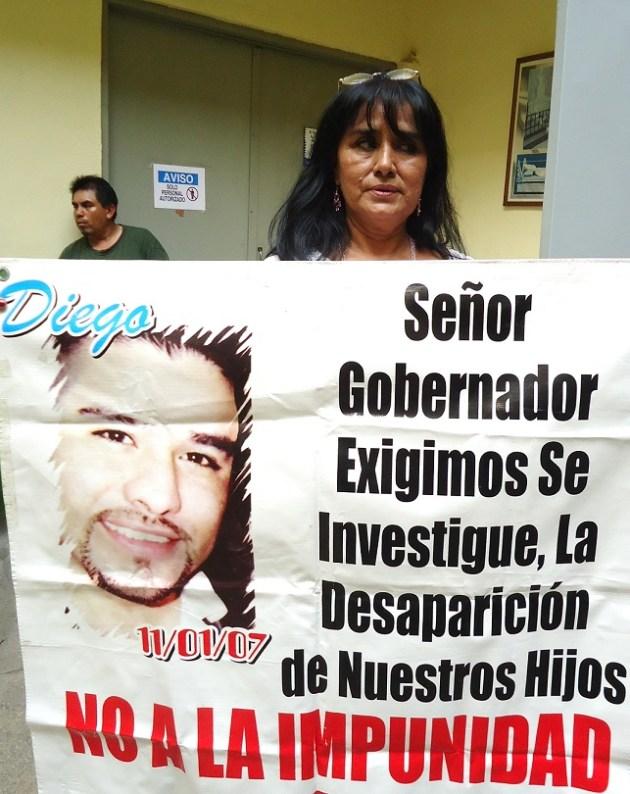 Irema Leyva, madre de desaparecido (Foto: cortesía de Lorena Rosas)