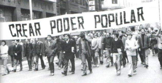 PODER POPULAR CREAR CHILE