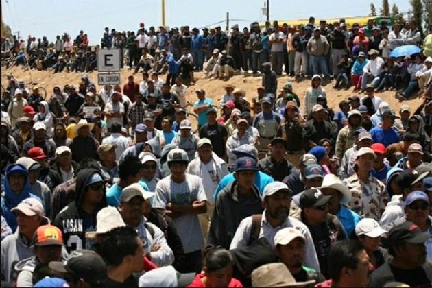 """La """"cacería"""" es en contra de quienes se movilizaron en el valle de San Quinín (Foto: archivo)."""