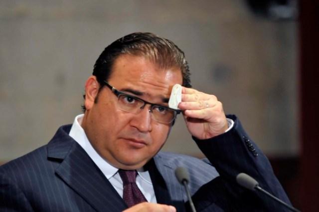 El gobernador Javier Duarte  (Foto: Miguel Ángel Carmona, Fotover).