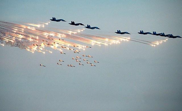 Aviones de la coalición lanzan bombas a ciudades sirias (Foto: internet).