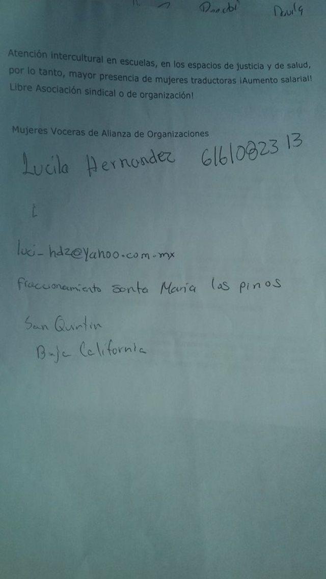 LUCILA HRDZ PETICION 3
