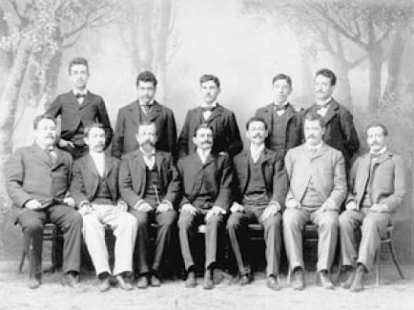 Integrantes del Club Liberal Ponciano Arriaga (Foto: internet)