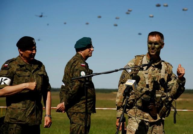 Ejercicios de la OTAN en Polonia (Kacper Pempel, Reuters).