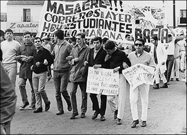 1968, lección que no aprendió el PRI y sus principales protagonistas (Foto: internet)