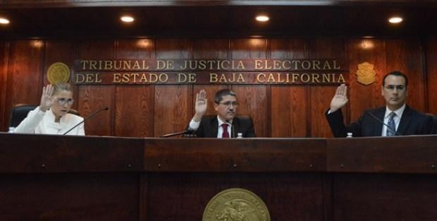 Ministros electorales de Baja California (El Mexicano).