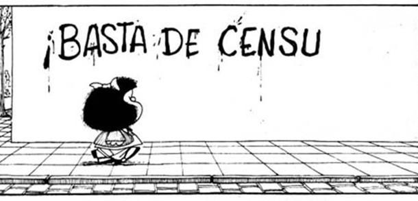 Mafalda, personaje del caricaturista argentino Quino (Foto: Internet).